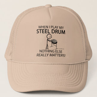 Le tambour métallique rien d'autre importe casquette