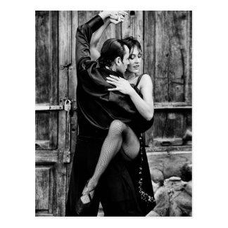 Le tango carte postale