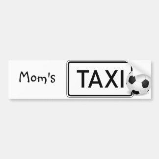 Le taxi de la maman/adhésif pour pare-chocs du foo autocollant pour voiture