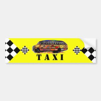 Le taxi de la maman autocollant de voiture