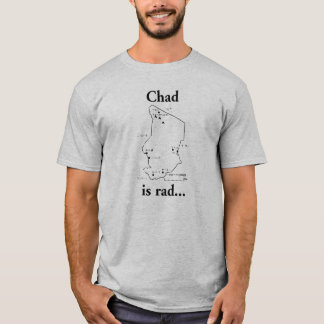 Le Tchad est rad T-shirt