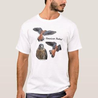 Le tee - shirt des hommes américains de crécerelle t-shirt