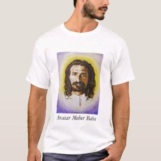 le tee - shirt des hommes avec le portrait du baba t-shirt