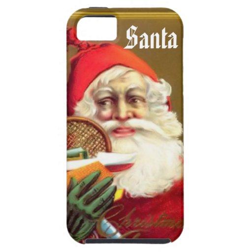 Le téléphone de Père Noël Coque iPhone 5 Case-Mate