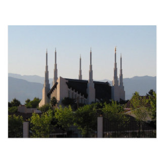 Le temple de Las Vegas Nevada LDS Cartes Postales