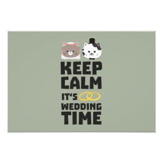 le temps de mariage gardent Zitj0 calme Photographie