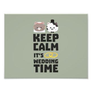 le temps de mariage gardent Zitj0 calme Photographie D'art
