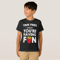 Le temps fait frire quand vous avez le T-shirt