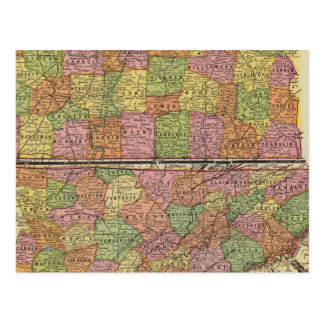 Le Tennessee 5 Carte Postale