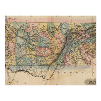 Le Tennessee 7 Carte Postale