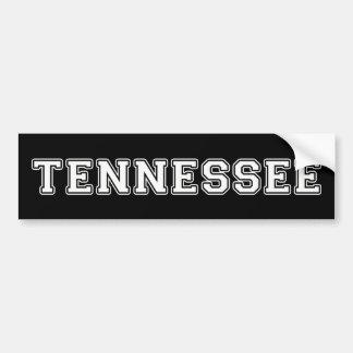 Le Tennessee Autocollant De Voiture