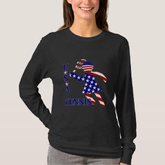 Le tennis des femmes des Etats-Unis T-shirt