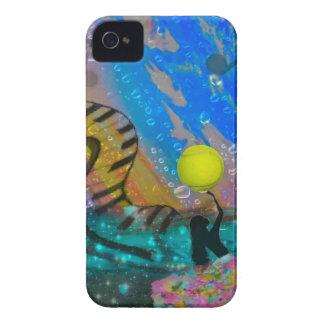 Le tennis est ma grande passion coque iPhone 4