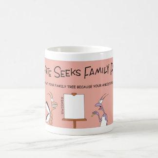 Le termite cherche des racines de famille mug