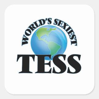 Le TESS le plus sexy du monde Stickers Carrés