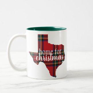 Le Texas - à la maison pour la tasse de Noël