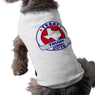 le Texas Donald Trump 2016.png T-shirt Pour Chien