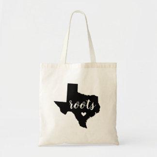 Le Texas enracine le sac fourre-tout à état