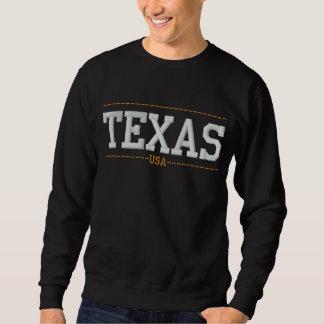 Le Texas Etats-Unis a brodé des sweatshirts