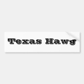 Le Texas Hawg Autocollant De Voiture