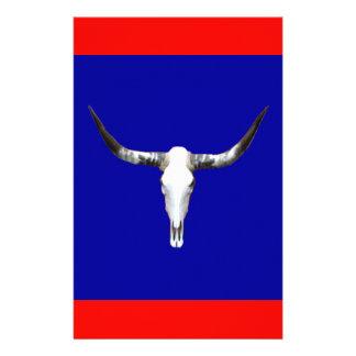 Le Texas Longhorn Z.jpg Papier À Lettre Customisable