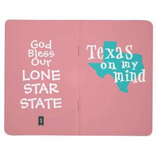 Le Texas sur mon journal de l'esprit BFF