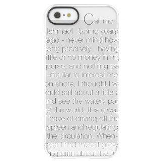 Le texte de baleine coque iPhone permafrost® SE/5/5s