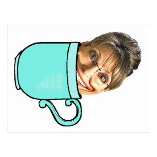 Le thé de Palin Carte Postale