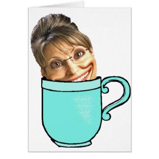 Le thé de Palin Cartes