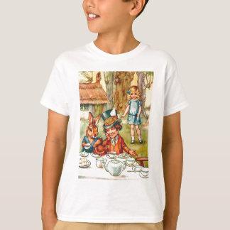 Le thé du chapelier fou - Alice au pays des T-shirt