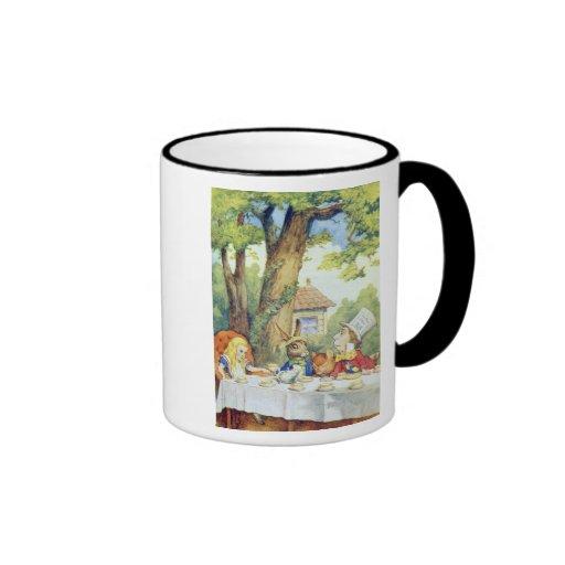 Le thé du chapelier fou mugs à café