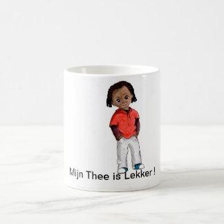 Le thé gobelet mug blanc