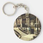 Le théatre de l'opéra, l'escalier grand, Paris, fr Porte-clef