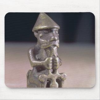 Le Thor avec un marteau, statuette a trouvé en Isl Tapis De Souris