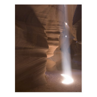 Le tire-bouchon en canyon supérieur d'antilope, carte postale