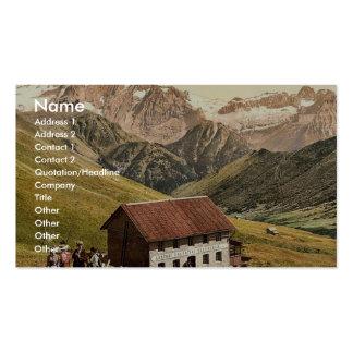 Le Tirol, vom Sellajoch, Aus de Marmolata. photo v Carte De Visite