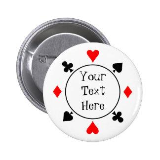 Le tisonnier sème le bouton badge