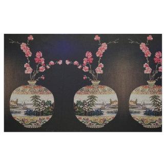 Le tissu japonais de vase