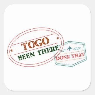 Le Togo là fait cela Sticker Carré