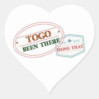 Le Togo là fait cela Sticker Cœur