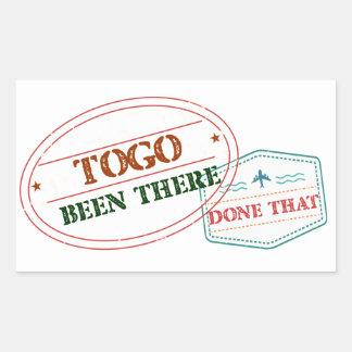 Le Togo là fait cela Sticker Rectangulaire