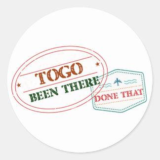 Le Togo là fait cela Sticker Rond