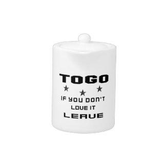 Le Togo si vous ne l'aimez pas, partent