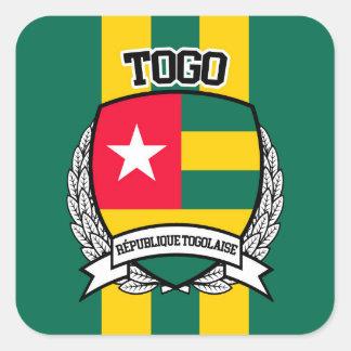 Le Togo Sticker Carré
