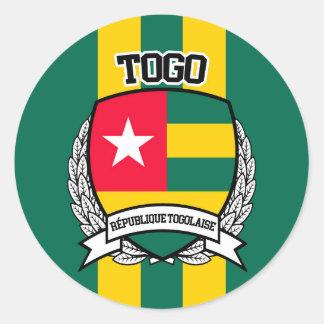 Le Togo Sticker Rond