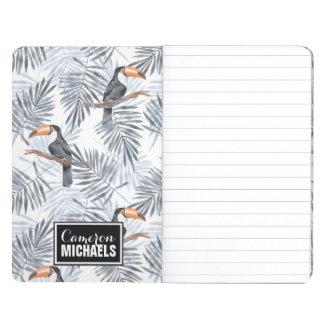 Le toucan gris | ajoutent votre nom carnet de poche