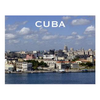 Le tourisme vintage de voyage du Cuba La Havane Cartes Postales