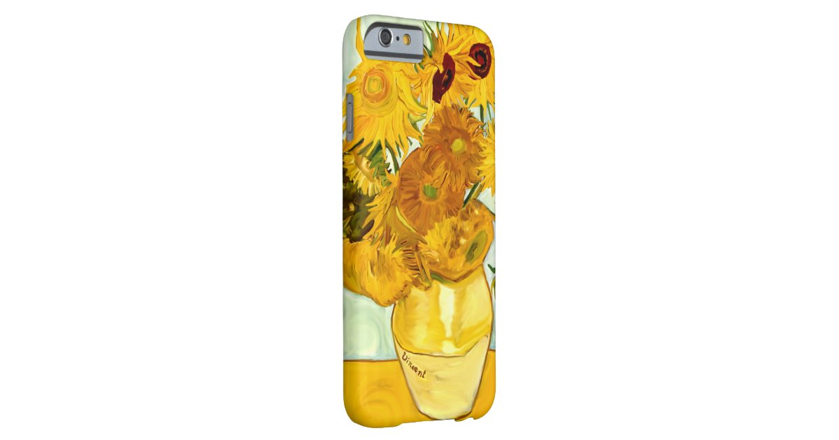 Le Tournesol Jaune De Vincent Van Gogh Peignant Coque Iphone 6 ...