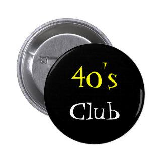 Le tout bouton de club d'âge pin's avec agrafe