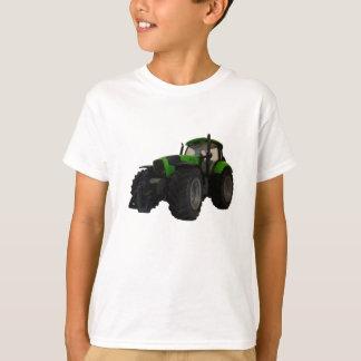 Le tracteur badine le T-shirt